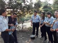 DOĞAL AFET - Aydın'da Kamp Ateşi Yakıldı