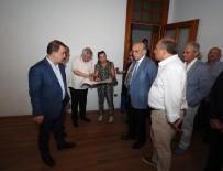 FENERBAHÇE BAŞKANI - Aziz Yıldırım Fenerbahçe Üniversitesi'nin Silivri'de Kurulacak Kampüsünü Gezdi