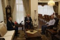 CENGIZ TOPEL - Başbakan Yardımcısı Işık'tan Vali Aksoy'a Ziyaret