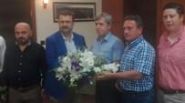 ZONGULDAK VALİSİ - Başkan Caner'den Vali Çınar'a Ziyaret