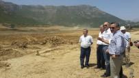 Başkan Tutal Ve DSİ Heyeti Kuğulu Göleti'nde İncelemelerde Bulundu