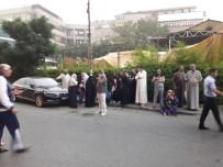 YENIDOĞAN - Bayrampaşa'da Lüks Otelde Yangın Paniği