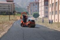 İSMAIL USTAOĞLU - Bitlis'te Yol Asfaltlama Çalışması