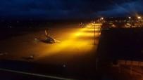 FRANKFURT - Bursa'ya İnen Uçaklar İstanbul'a Havalanıyor