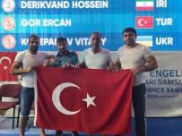 ALTIN MADALYA - DEAFLYMPİCS Oyunlarında Ercan Gör, Serbest Güreşte Üçüncü Olarak Bronz Madalya Kazandı