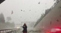 ŞİDDETLİ RÜZGAR - Dolmabahçe Tüneli Bir Süre Kapandı