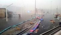 TAKSIM - Fırtına Taksim'i Savaş Alanına Çevirdi