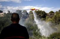 CANNES - Fransa'da Orman Yangınları Nedeniyle 12 Bin Kişi Tahliye Edildi