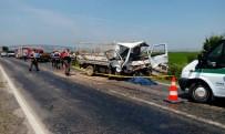 ÜLFET - Gönen'de Trafik Kazası Açıklaması 2 Ölü