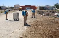 ÇÖP KONTEYNERİ - Haliliye Belediyesi İlaçlama Çalışması