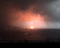 HAYDARPAŞA - Haydarpaşa Limanı'nda yangın