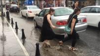 SU BASKINI - İBB'den Yağış Uyarısı