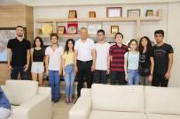 KABATAŞ ERKEK LISESI - İstanbullu Liseli Gençler, Mezitli Belediyesi'nin Sosyal Projelerinde Yer Aldı