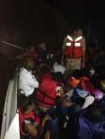 ERITRE - İzmir'de Yurt Dışına Kaçmaya Çalışan 43 Göçmen Yakalandı