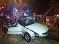 CADDEBOSTAN - Kadıköy'de Feci Kaza Açıklaması 1 Kişi Hayatını Kaybetti, 1 Kişi Yaralı