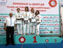 SELANIK - Kağıtsporlu Yıldız Judocular Türkiye Şampiyonası'nda Fırtına Gibi Esti