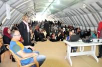 ERKEN EVLİLİK - Kampta Kalan Suriyelilere Erken Evliliğin Sakıncaları Anlatıldı