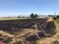 ANIZ YANGINI - Korkuteli'de 12 Dönüm Tarım Arazisi Yandı