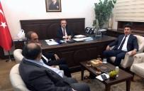 MUSTAFA DOĞAN - Rektör Karacoşkun Müsteşar Yardımcısı İsmail Çataklı'yı Ziyaret Etti
