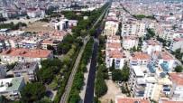 FEVZIPAŞA - Salihli'de Yol Asfaltlama Çalışması
