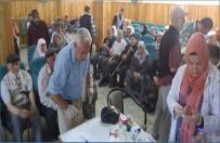 DAVUT ÇALıŞKAN - Sandıklı'da Hacı Adaylarına Menenjit Aşısı Yapıldı