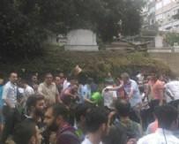 ERMENI - Şişli'de istinat duvarı çöktü