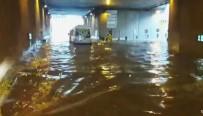 TAKSIM - Taksim Tüneli Sular Altında Kaldı