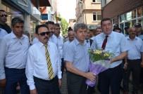 ZONGULDAK VALİSİ - Vali Çınar, Alaplı Belediyesi'ni Ziyaret Etti