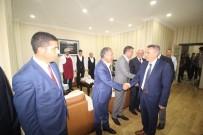 SÜLEYMAN ELBAN - Vali Elban Belediye Ve Belde Başkanlarıyla Bir Araya Geldi