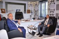 NACI KALKANCı - Vali Kalkancı'dan Başkan Kutlu'ya Ziyaret