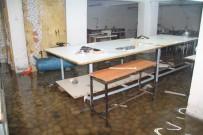 SU BASKINI - Yenibosna'da İş Yerlerini Su Bastı
