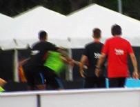 Barcelona'nın antrenmanında kavga çıktı