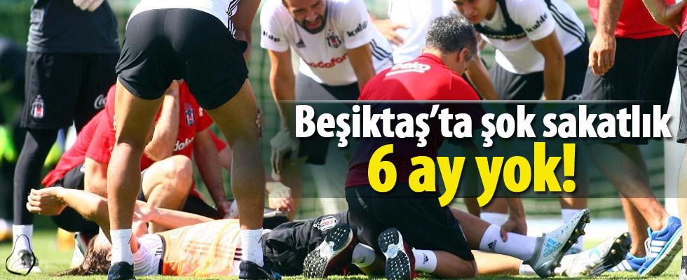 Beşiktaş'ta şok sakatlık! 6 ay yok