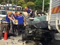 VEZIRHAN - Bilecik'te Katliam Gibi Kaza Açıklaması 3 Ölü, 2 Yaralı