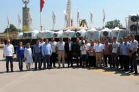 LÜTFI EFIL - Büyükşehir'nden Süt Üreticilerine Soğutma Tankı
