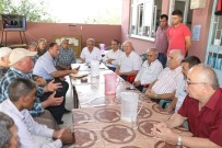 İBRAHIM USLU - Büyükşehir Saruhanlı'daki 13 Mahallenin Girişlerini Yenileyecek