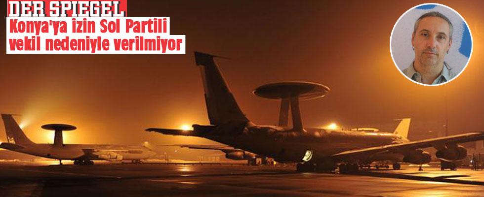 Der Spiegel: Konya'ya izin Sol Partili vekil nedeniyle verilmiyor