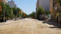 ASBEST - Eski Kahta Caddesinde Altyapı Çalışmaları Devam Ediyor
