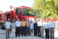 TÜRKIYE BELEDIYELER BIRLIĞI - Eskigediz Belediyesine Hibe İtfaiye Aracı