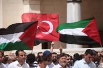 GIYABİ CENAZE NAMAZI - Filistinliler İçin Gıyabi Cenaze Namazı Kıldılar