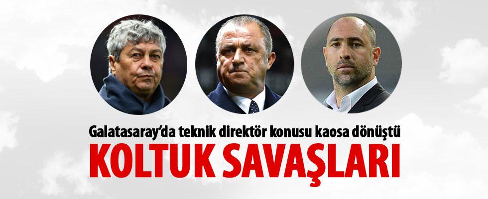 Galatasaray'da teknik direktör krizi