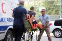 ASLIYE CEZA MAHKEMESI - Hastanede Yakalaması Çıkınca Sedye İle İfadeye Götürüldü