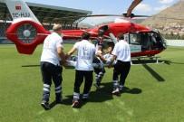 Hava Ambulansı Parmağı Kopan Çiftçi İçin Havalandı