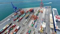 HAYDARPAŞA - Haydarpaşa Limanı'nda Fırtınadan Devrilen Vinçler Havadan Görüntülendi