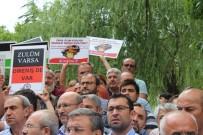 SES BOMBASI - İsrail'in, Mescid-İ Aksa'daki Zulmü Protesto Edildi