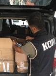 ALKOLLÜ İÇKİ - İzmir'de Kaçak İçki Operasyonu