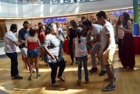AVRUPALı - Kadına Şiddete Dans İle Dikkat Çektiler