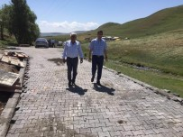 Kayadibi Köyü Yolu Kilit Parke Taş Yapılıyor