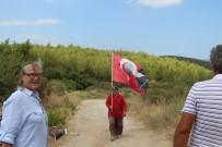 TAŞ OCAĞI - Kuşadası'nda Köylülerden Taş Ocağı Eylemi