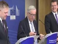 SıĞıNMA - Merkel aradı, Juncker telefonu yüzüne kapadı